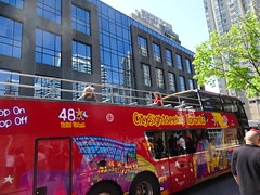 Hop on, Hop off sightseeing bus in Toronto (Trinimusic2008 -blessings) Tags: trinimusic2008 judymeikle nature toronto to ontario canada happycanadadayweekend doubledeckerbus harbourfrontcentre