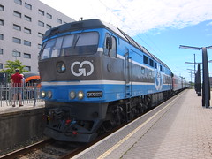 Estonia class TEP70 (onewayticket) Tags: diesel railway trains transport locomotive loco tallinn estonia gorail