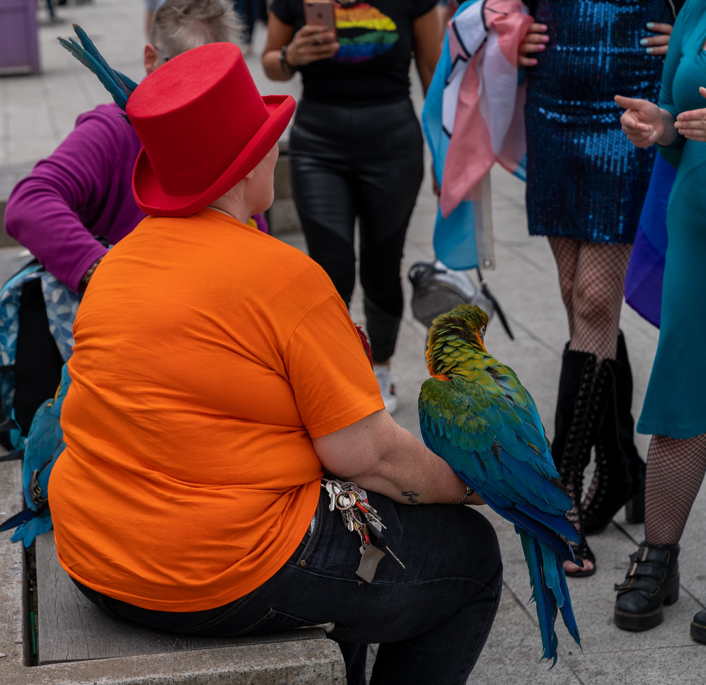 DUBLIN PRIDE PARADE 2019 [THE STREETS BEFORE THE PARADE]-153584