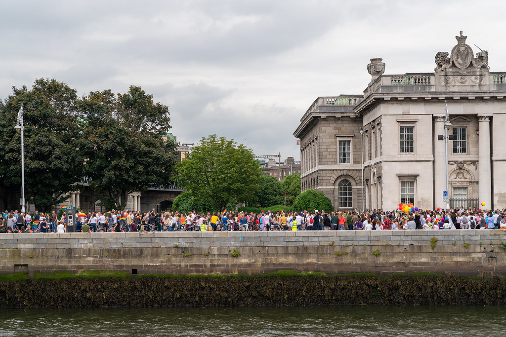 DUBLIN PRIDE PARADE 2019 [THE STREETS BEFORE THE PARADE]-153583