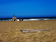 Nirvana (Chandler.W) Tags: color beach love art landscape macro beautiful together relaxed wood water candid couple married paradise