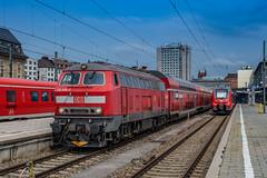 218 446-3 DB Regio München Hauptbahnhof 06.06.19 (Paul David Smith (Widnes Road)) Tags: austria tyrol kufstein münchen db hauptbahnhof regio br218 060619 v164 2184463