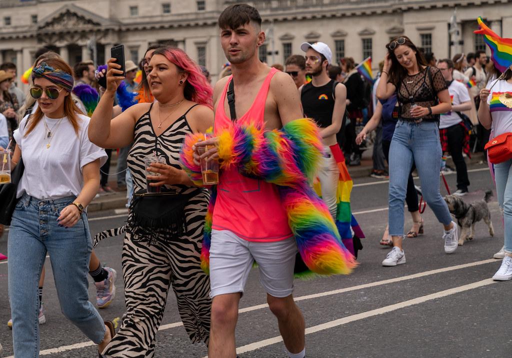 DUBLIN PRIDE FESTIVAL 2019 [THE ACTUAL PARADE]-153589