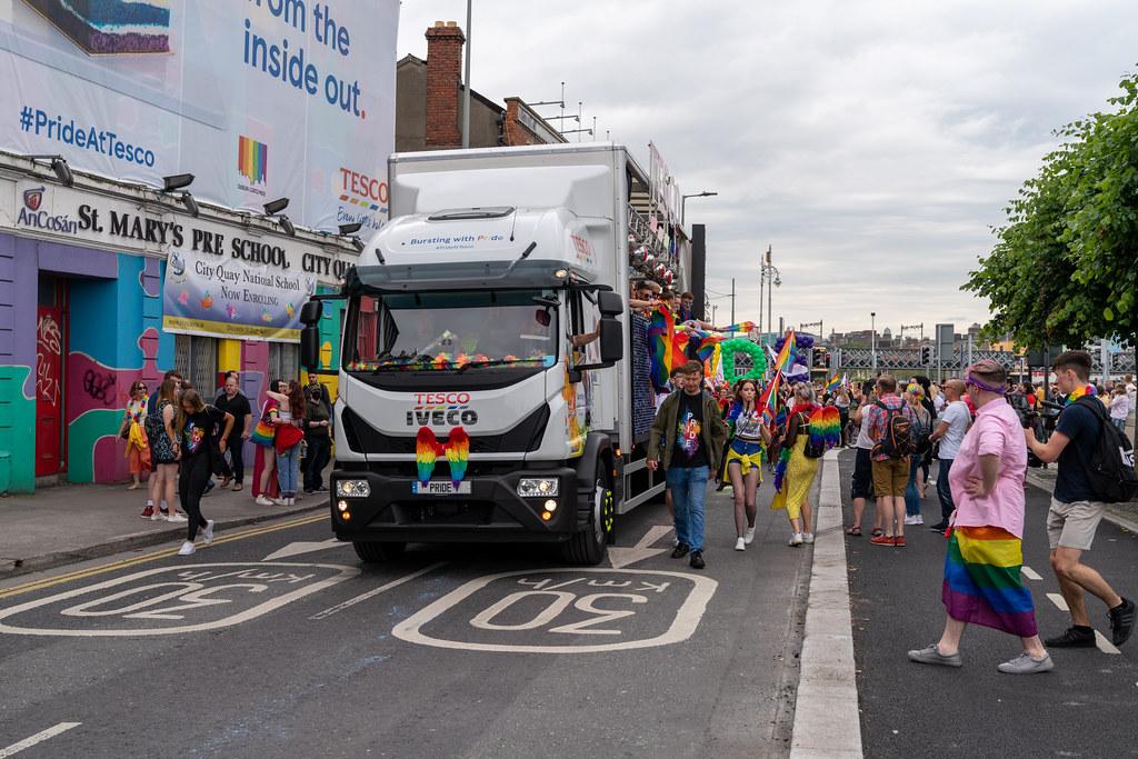 DUBLIN PRIDE FESTIVAL 2019 [THE ACTUAL PARADE]-153613