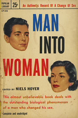 Popular Library SP100 - Niels Hoyer - Man into Woman (swallace99) Tags: popularlibrary vintage 50s biography paperback mitchellhooks einarwegener sexchange