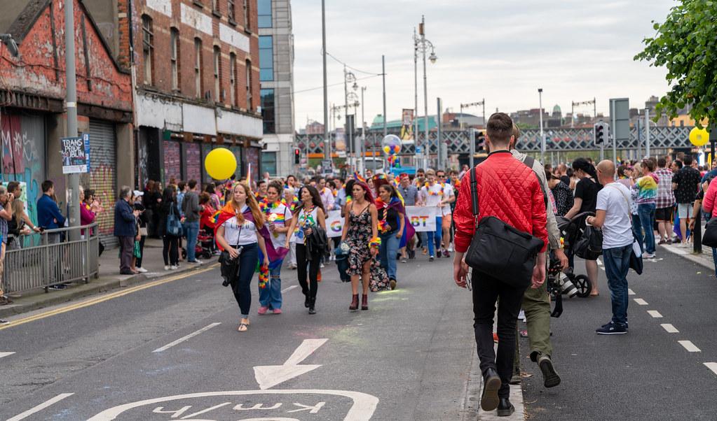 DUBLIN PRIDE FESTIVAL 2019 [THE ACTUAL PARADE]-153607