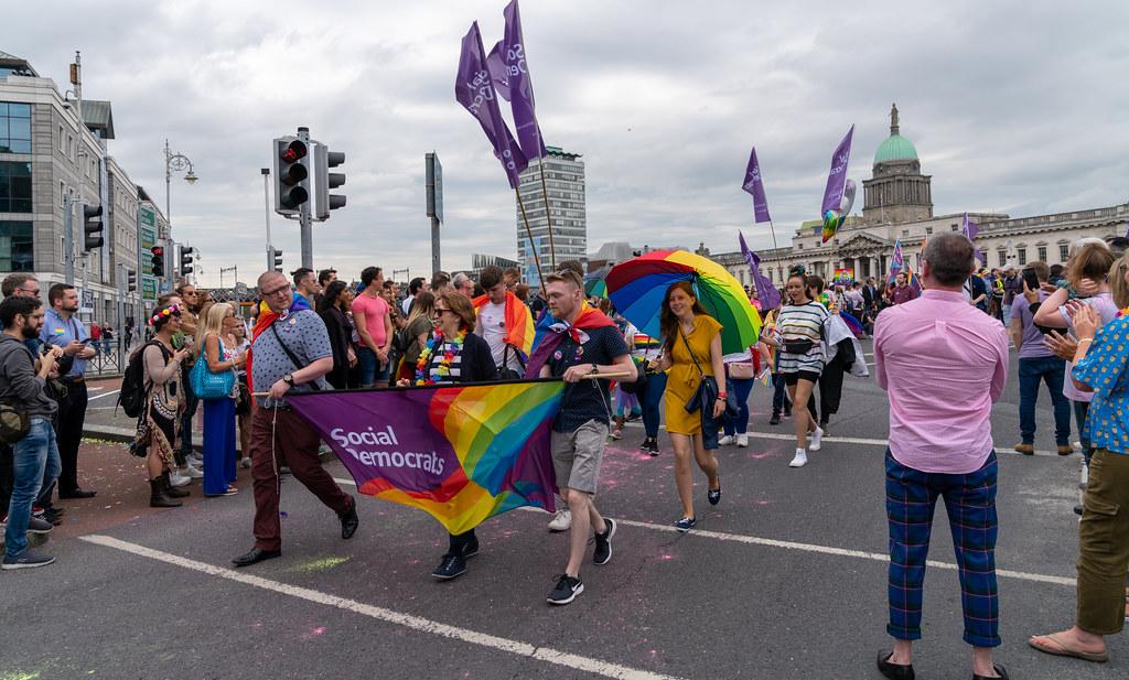 DUBLIN PRIDE FESTIVAL 2019 [THE ACTUAL PARADE]-153596