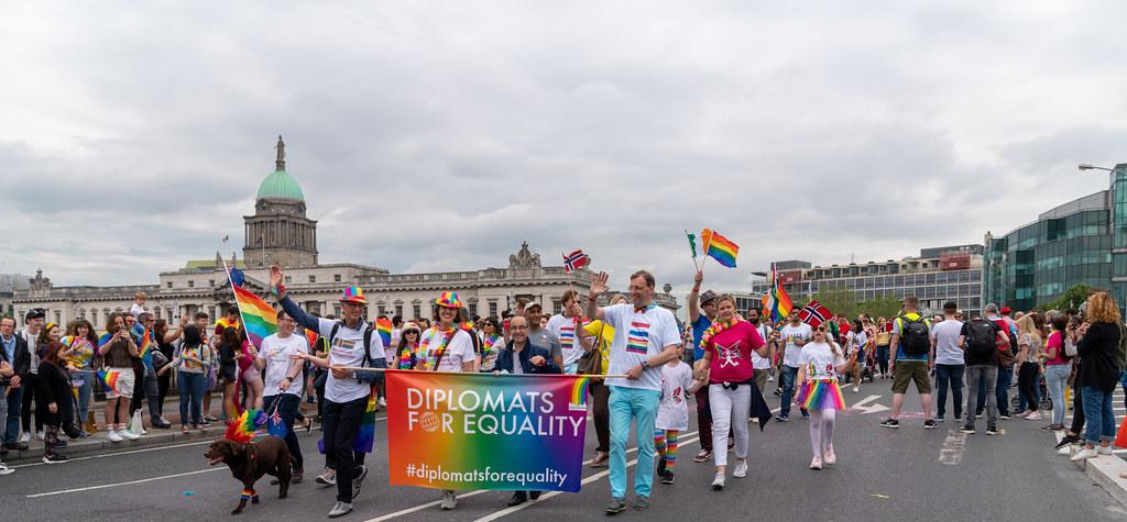 DUBLIN PRIDE FESTIVAL 2019 [THE ACTUAL PARADE]-153593