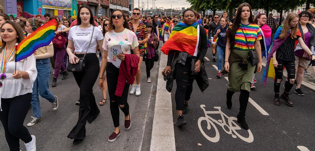 DUBLIN PRIDE FESTIVAL 2019 [THE ACTUAL PARADE]-153678