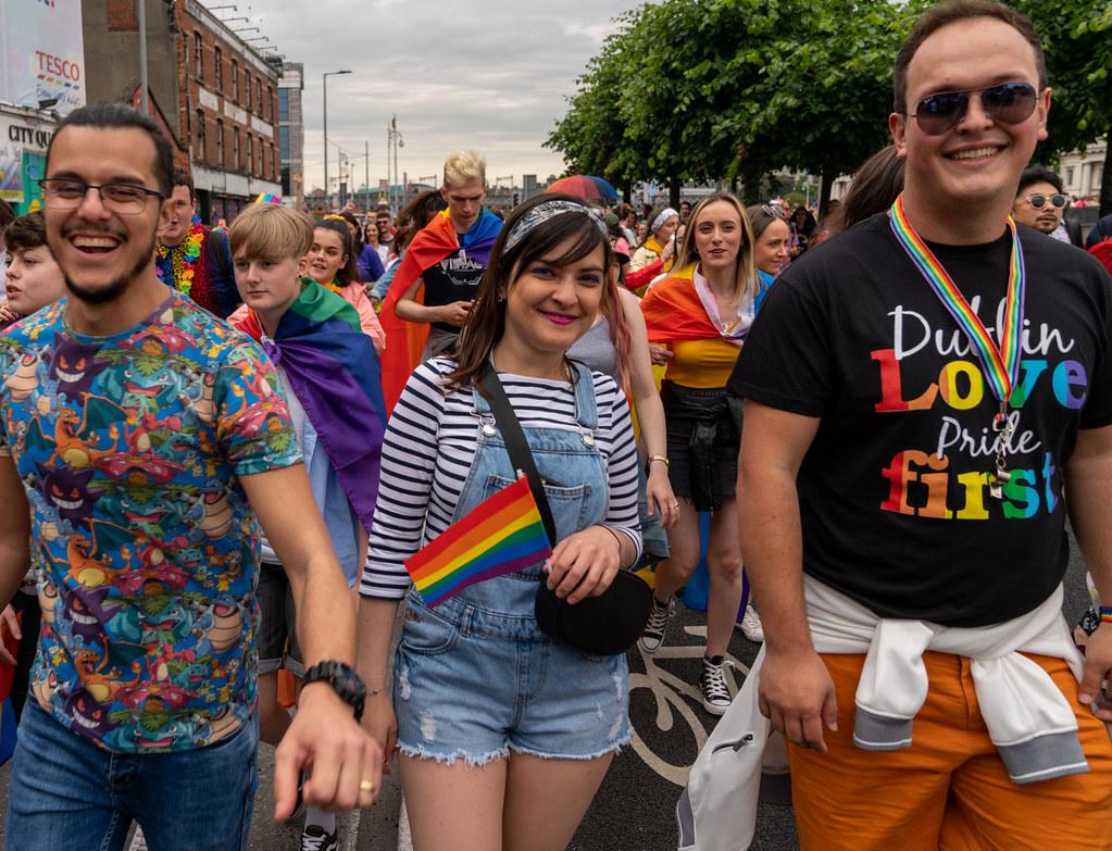 DUBLIN PRIDE FESTIVAL 2019 [THE ACTUAL PARADE]-153661