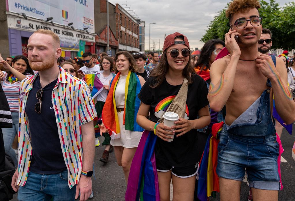 DUBLIN PRIDE FESTIVAL 2019 [THE ACTUAL PARADE]-153659