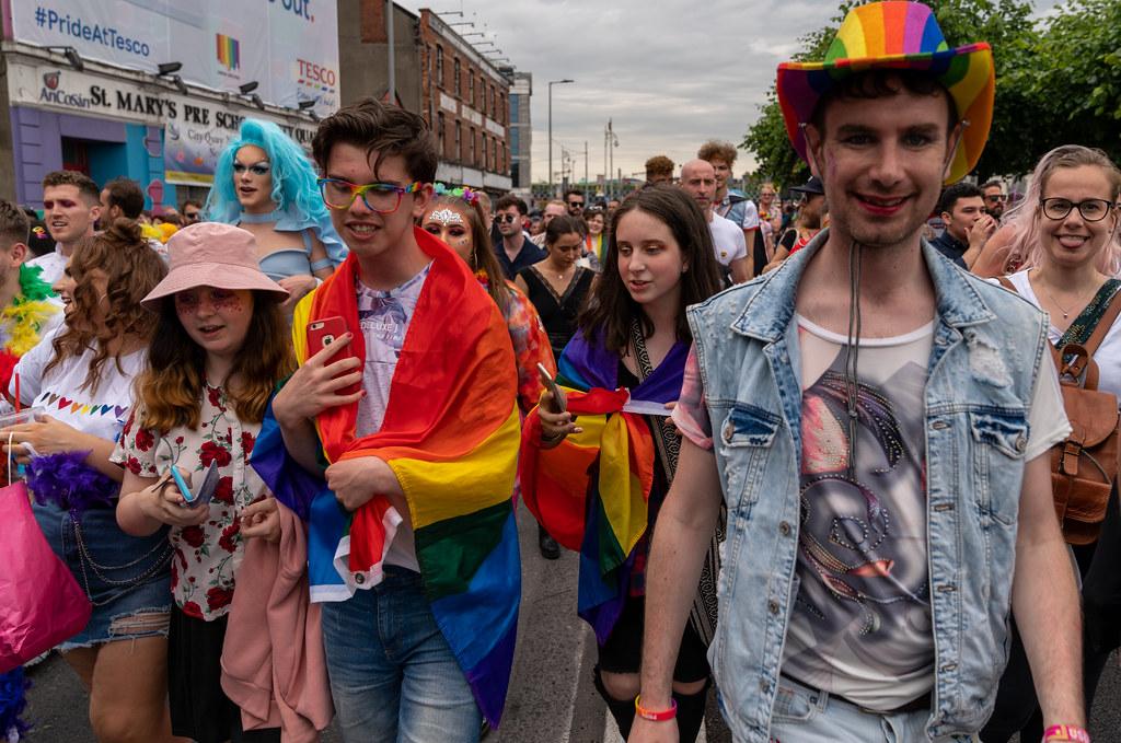 DUBLIN PRIDE FESTIVAL 2019 [THE ACTUAL PARADE]-153656