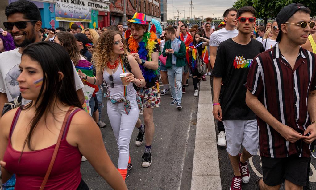 DUBLIN PRIDE FESTIVAL 2019 [THE ACTUAL PARADE]-153653