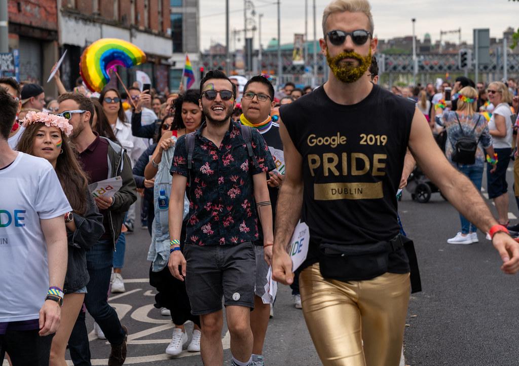 DUBLIN PRIDE FESTIVAL 2019 [THE ACTUAL PARADE]-153631
