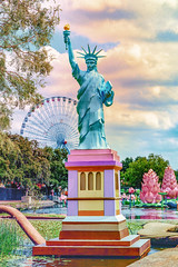 Liberty MG_9481 (3Bs7Gs) Tags: chineselanternfestival dallastexas fairparkdallastexas liberty statueofliberty freedom festivals exhibits