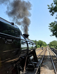 Great Central Railway Swithland Leicestershire 29th June 2019 (loose_grip_99) Tags: greatcentral gcr railway railroad rail train steam engine locomotive leicestershire eastmidlands england uk preservation transportation stanier 8f 280 48624 swithland dining gassteam uksteam trains railways june 2019