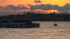 Would you like romantic Bosphorus cruise end of the day? İstanbul, Turkey 🇹🇷 (ridomir) Tags: kadıköydengünbatımı günbatımı sunsetatistanbul bosphoruscruise fatih sultanahmet nuruosmaniye beyazıt çemberlitaş