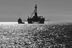 Transocean Leader and Rem Trader (Iain Maciver SY) Tags: ship scotland supplyvessel oilexploration oil ocean oilindustry sea psv vessel oilrig drilling nautical maritime marine cargo