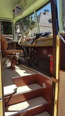SAURER Gigant - Einstieg (John Steam) Tags: oldtimer oldtimertreffen vintage meeting salzkammergut nostalgia bad goisern saurer gigant postbus reisebus österreichische post diesel