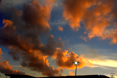 Clouds at sunset by iezalel williams IMG_9201 - Canon EOS 700D (iezalel7williams) Tags: clouds cloudscape orange blue outdoor sunset canoneos700d skyscape sky white beautiful nature love light beauty high vibration brown yellow roof etheric ether elemental naturalelement air wind