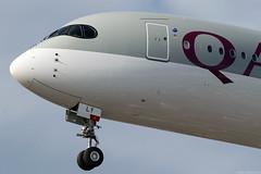 A7-ALY (Andras Regos) Tags: aviation aircraft plane fly airport lhr egll heathrow approach landing qatar qatarairways airbus a350 a359 a350900 xwb a350xwb