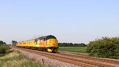 Tour of the East (Duck 1966) Tags: class37 diesel locomotive colas networkrail stowgate fenland train