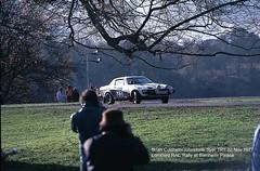 Lombard RAC Rally, Blenheim Palace, 1977 (beareye2010) Tags: rally rallyinginthe1970s rallycar lombardracrally lombardracrally1977 blenheimpalace 1977 1970s mickeymousestage