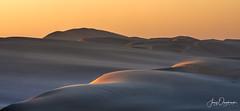 First kiss (Jerzy Orzechowski) Tags: shadows dunes sand landscape namibia abstract sandwichharbour orange sunrise