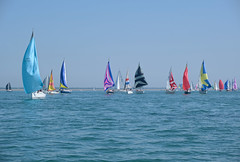 Isle of Wight - Round the Island Race 2019   (2) (Simon Downham) Tags: isleofwight island race annual 2019 june 29th yacht yachts boat boats sea solent water colours