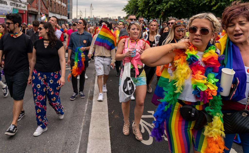 DUBLIN LGBTQ PRIDE PARADE 2019 [PHOTOGRAPHED AT CITY QUAY JUNE 29]-153687