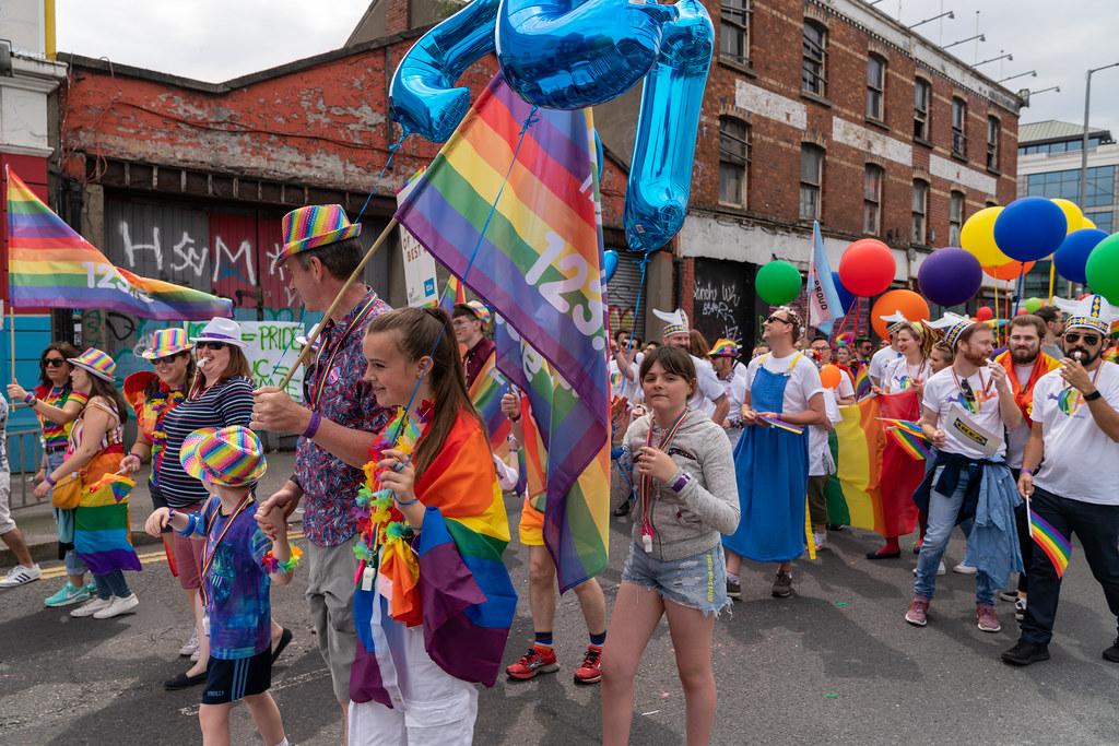 DUBLIN LGBTQ PRIDE PARADE 2019 [PHOTOGRAPHED AT CITY QUAY JUNE 29]-153771