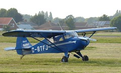 G-BTFJ at Solent Airport - 29 June 2019 (John Oram) Tags: gbtfj pa15 solentairport leeonsolent eghf piperpa15vagabond tz70p1000158ce bluebell