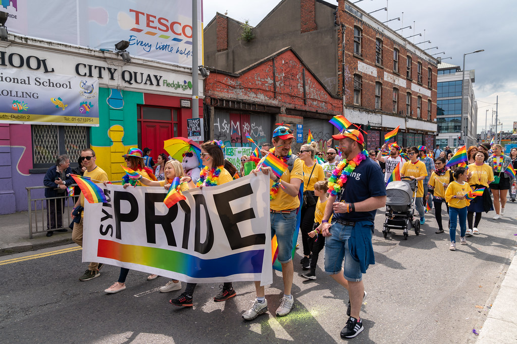 DUBLIN LGBTQ PRIDE PARADE 2019 [PHOTOGRAPHED AT CITY QUAY JUNE 29]-153783