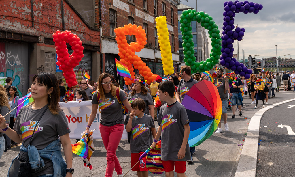 DUBLIN LGBTQ PRIDE PARADE 2019 [PHOTOGRAPHED AT CITY QUAY JUNE 29]-153781