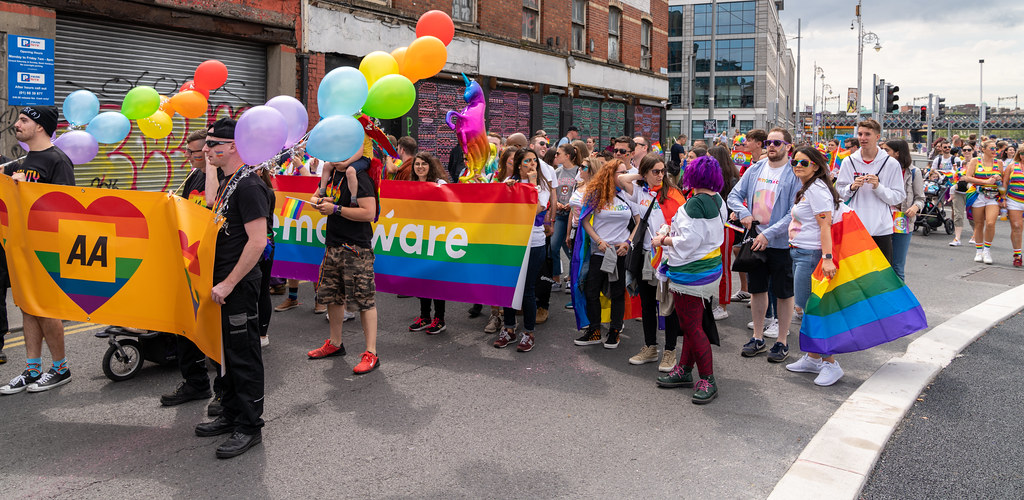 DUBLIN LGBTQ PRIDE PARADE 2019 [PHOTOGRAPHED AT CITY QUAY JUNE 29]-153777