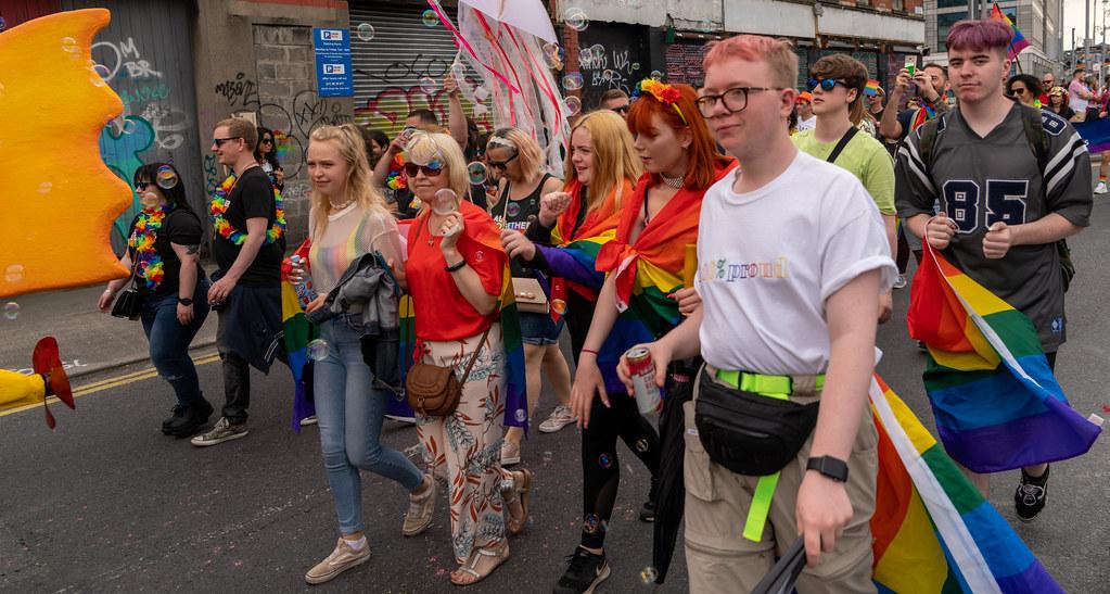 DUBLIN LGBTQ PRIDE PARADE 2019 [PHOTOGRAPHED AT CITY QUAY JUNE 29]-153699