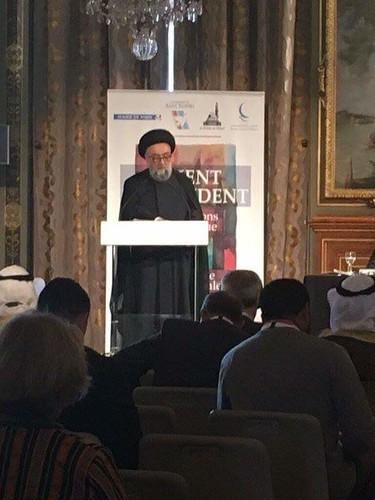 السيد علي الأمين - بلدية باريس - حوار الشرق والغرب - مجلس حكماء المسلمين