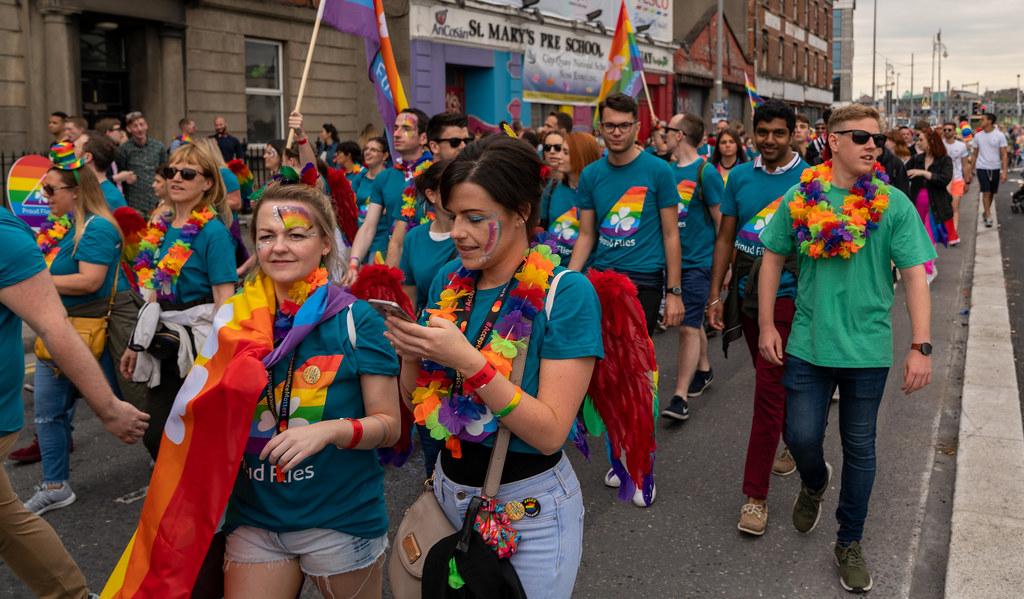 DUBLIN LGBTQ PRIDE PARADE 2019 [NEAR MOSS STREET - TALBOT BRIDGE]-153811