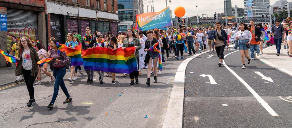 DUBLIN LGBTQ PRIDE PARADE 2019 [NEAR MOSS STREET - TALBOT BRIDGE]-153938