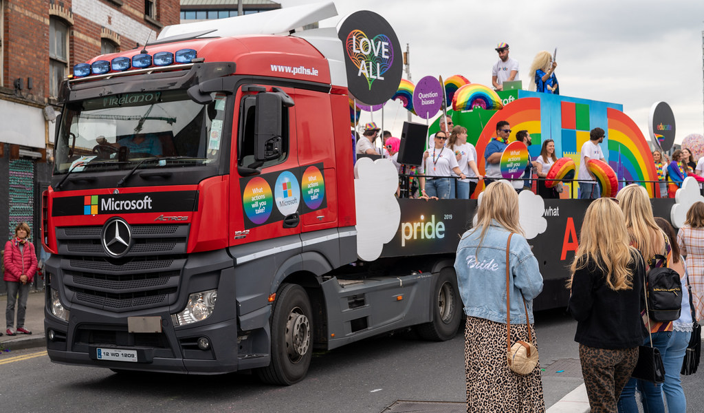 DUBLIN LGBTQ PRIDE PARADE 2019 [NEAR MOSS STREET - TALBOT BRIDGE]-153911
