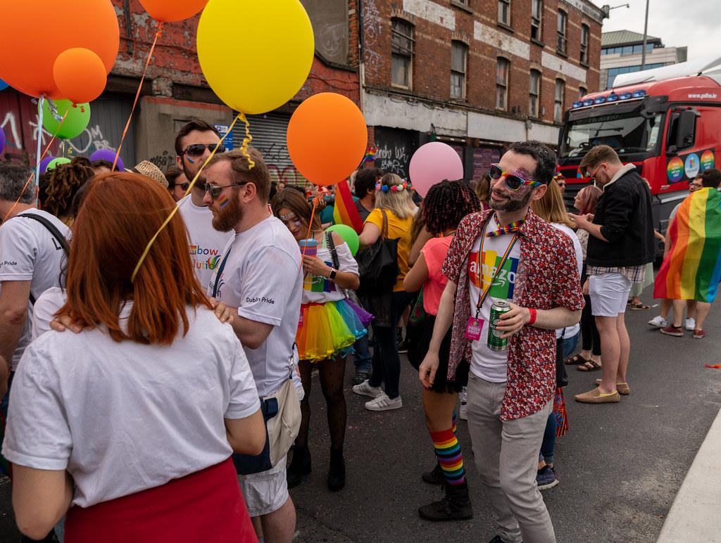 DUBLIN LGBTQ PRIDE PARADE 2019 [NEAR MOSS STREET - TALBOT BRIDGE]-153908