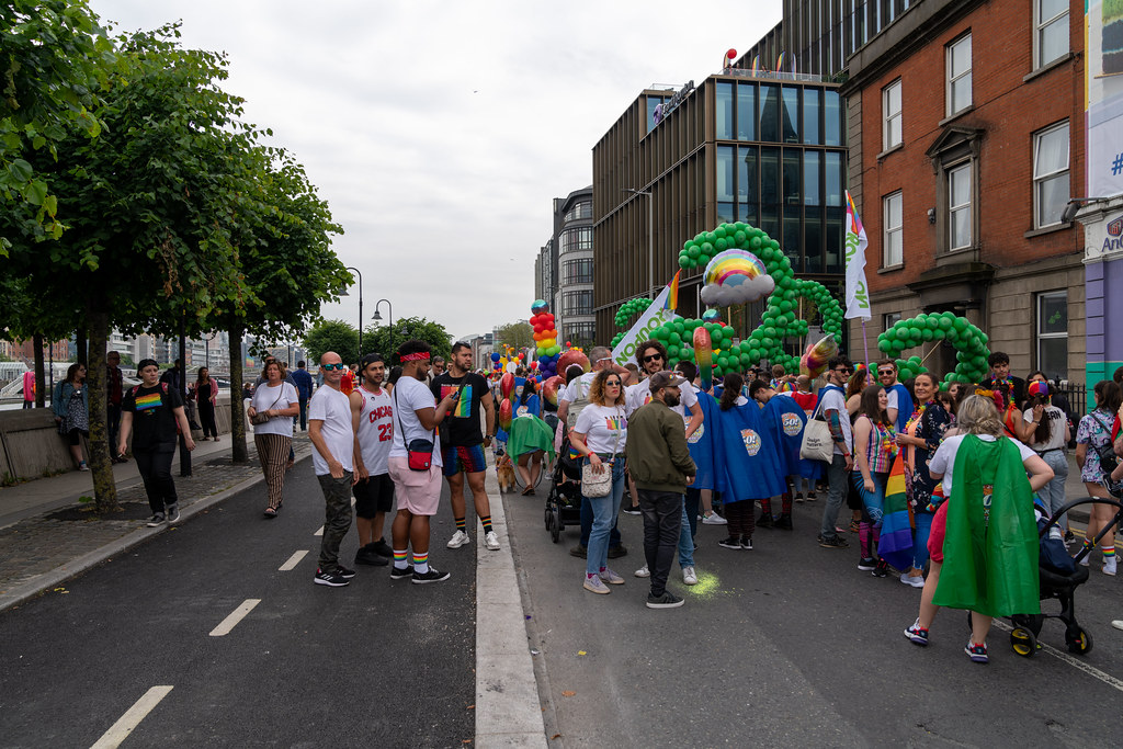 DUBLIN LGBTQ PRIDE PARADE 2019 [NEAR MOSS STREET - TALBOT BRIDGE]-153894