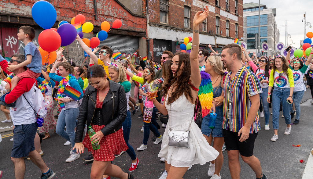 DUBLIN LGBTQ PRIDE PARADE 2019 [NEAR MOSS STREET - TALBOT BRIDGE]-153888