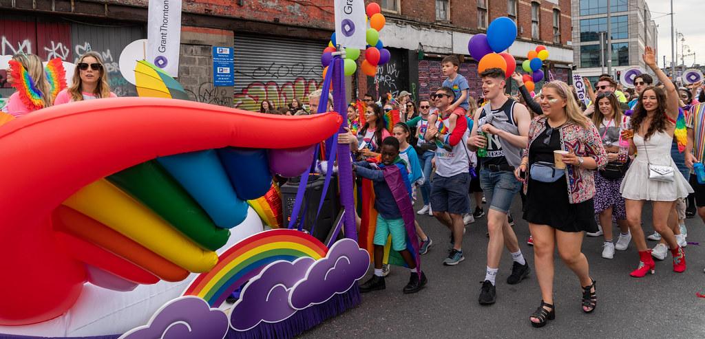 DUBLIN LGBTQ PRIDE PARADE 2019 [NEAR MOSS STREET - TALBOT BRIDGE]-153885