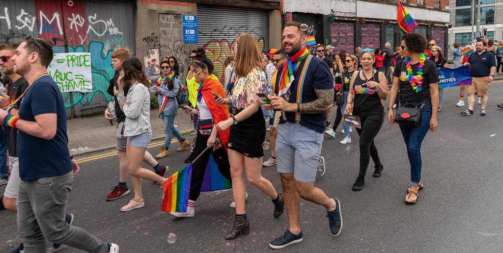 DUBLIN LGBTQ PRIDE PARADE 2019 [NEAR MOSS STREET - TALBOT BRIDGE]-153879