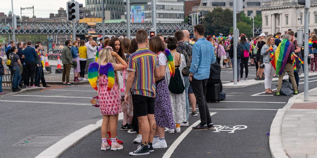 DUBLIN LGBTQ PRIDE PARADE 2019 [NEAR MOSS STREET - TALBOT BRIDGE]-153871