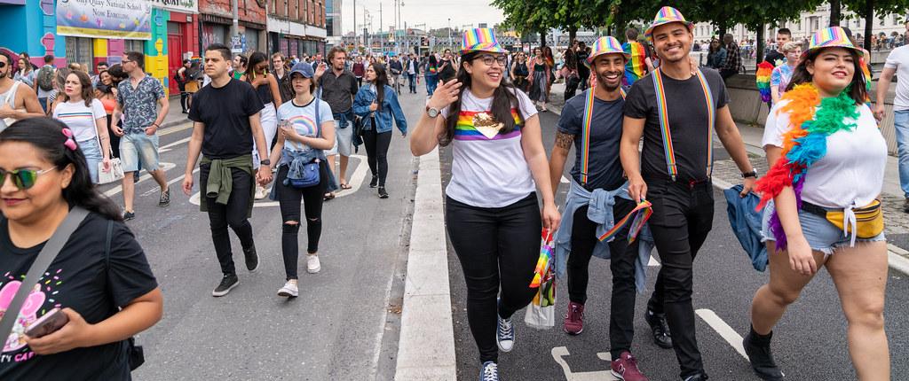 DUBLIN LGBTQ PRIDE PARADE 2019 [NEAR MOSS STREET - TALBOT BRIDGE]-153868