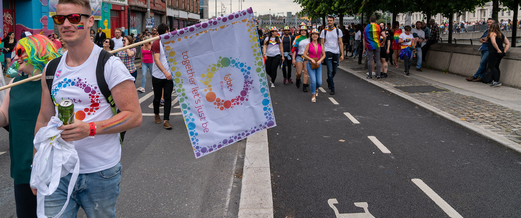 DUBLIN LGBTQ PRIDE PARADE 2019 [NEAR MOSS STREET - TALBOT BRIDGE]-153866