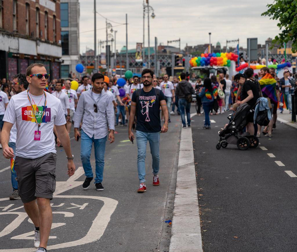 DUBLIN LGBTQ PRIDE PARADE 2019 [NEAR MOSS STREET - TALBOT BRIDGE]-153862