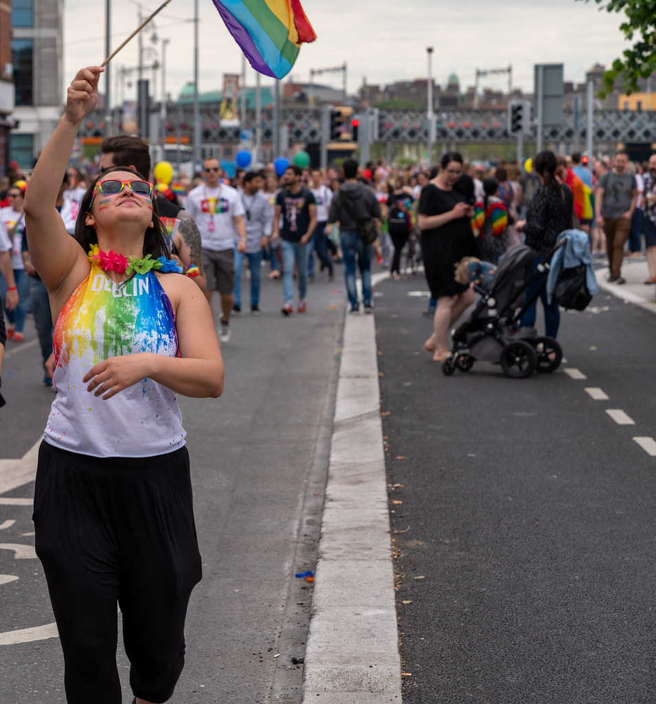 DUBLIN LGBTQ PRIDE PARADE 2019 [NEAR MOSS STREET - TALBOT BRIDGE]-153860